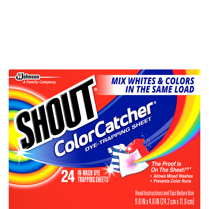 Shout Color Catcher 24 Sheets